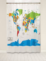 saay knight the world peva shower curtain