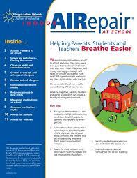 Indoor Airepair At School Newsletter Allergy Asthma Network