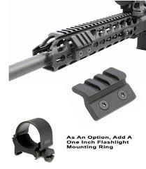KeyMod <b>45 Degree Offset Rail</b> | GG&G Tactical Accessories