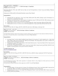 Resume Of Dot Net Professional Essay Writing Advice For Students