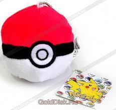 Плюшевая <b>игрушка Мяч Покебол Pokemon</b>, 8 см (P00244 ...