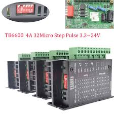 details about diy cnc controller motor drivers tb6600 single axis 4a 2 4 phase stepper motor
