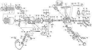 daiwa fishing reel schematics fishing reels and parts html in okuma stratus v manual at Okuma Reel Parts Diagram
