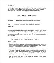 Consulting Agreement Sample In Word Magnificent Consulting Agreement Template Kordurmoorddinerco