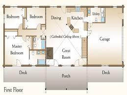 3 Bedroom Log Cabin Floor Plans 3 Bedroom Cabin Floor