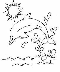 Delfini Disegni Per Bambini Da Colorare