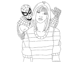 Spider Man Edge Of Time Per Colorare Coloring Book Di Deadpool