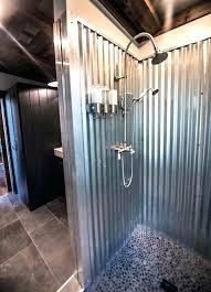 corrugated metal ceiling basement tiles panels