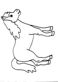 Cavallo Da Colorare Per Bambini Barbie E La Magia Di Pegaso Da