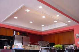 inside lighting.  Inside Modern White And Red Nuance Of The Led Kitchen Light That Has  Lighting Can Add Beauty Inside House Design Ideas Seems Nice  On