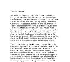 creative writing description of a haunted house collaborate  teaching resources creative writing the haunted house guardian teacher network