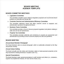 Microsoft Word Meeting Agenda Template Cool Board Meeting Agenda Templates 48 Printable Word Excel PDF