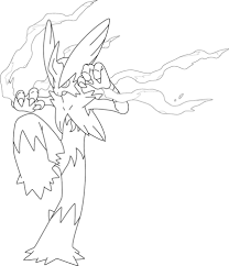 Small Picture Mega Blaziken Pokemon coloring page Free Printable Coloring Pages