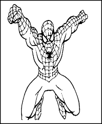 25 Spiderman Coloring Page Printable Spider Man Color Page