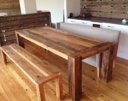 handmade oak dining room tables. tables nice rustic dining table with bench in handmade oak room h