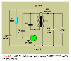 practical transistor circuits dc to dc converter circuit 9 to 300 volts