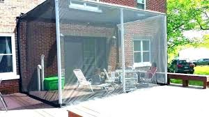 mesh curtains for patio mosquito interior netting porch enclosures outdoor screen door curtain screens