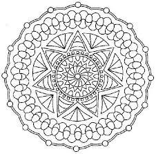 Disegni Da Colorare Per Adulti Mandala Per Adulti Rosoni