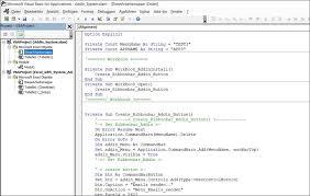 Addin Vba Code Codedocu Office 365