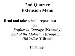read and take a book report test