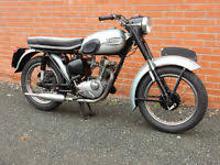 triumph t20 tiger cub barn find matching nos project spares