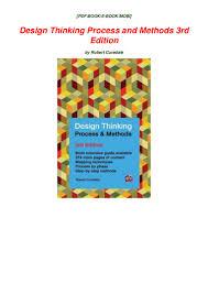 Design Thinking Process Pdf Pdf Download Free Ebook Design Thinking Process And Methods