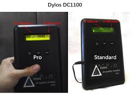 Dylos Dc1100 Pro Air Quality Chart How Accurate Is The 1 Micron Dylos