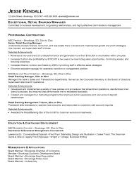 key takeaways  really like the header concept overall in this    resume header examples for exceptional retail banking manager   selected achievements and continuing development