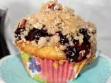 blueberry crisp cupcakes