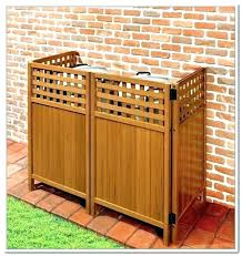 outdoor garbage can storage outdoor garbage bin storage garbage storage cabinet outside garbage can storage outdoor