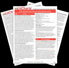 the immortal life of henrietta lacks study guide from litcharts the printed pdf version of the litchart on the immortal life of henrietta lacks ldquo