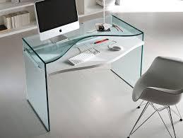 glass desk for office. nella vetrina tonelli strata contemporary italian glass desk for desks office