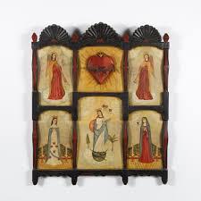 Lot - Bernadette Pino De Goler, Altar Screen, 1999
