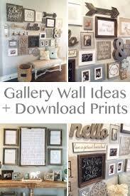 lovely modern farmhouse kitchen wall decor 1