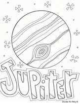 Small Picture Jupiter colouring page plus other planets JUPITER Pinterest