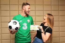 Irish Soccer Star Kevin Oconnor Scores 1 Million Lotto Prize
