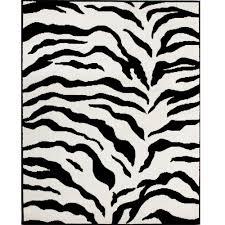 zebra print rug68 zebra