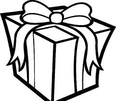Small Picture Present Coloring Page Present Coloring Sheet Bow Decoration On Top