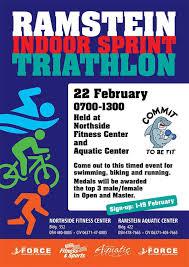 ramstein indoor sprint triathlon 86 fss