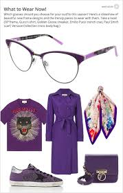what to wear with those new frames check out our slideshow look book of clothing accessories and frames designed to help you fill out your wardrobe