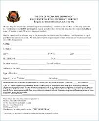 Download Fire Incident Report Form Template Free Template Design