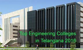 Top Engineering Colleges in Telangana 2016