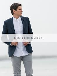 Blazer Sleeve Length Chart Size Guides Mens Womens Size Chart Magee 1866