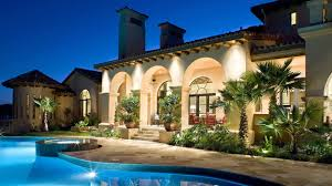 house outdoor lighting ideas. Wonderful Landscape Lighting Ideas With Pool House Outdoor