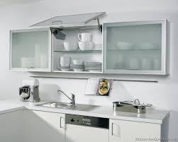 glass kitchen cabinet doors color
