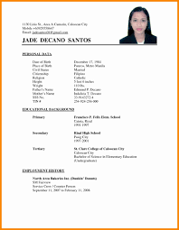 Sample Of Resume For Abroad Sample Resume Templates Tags Dazzling Abroad Resume Format Sample