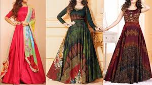 New Dress Design Pic Wow New Design Kurti Images Photo Gown Dress Picture Dress Design For Girls
