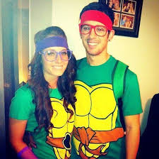 ninja turtles couples costumes. Wonderful Ninja Halloween Teenage Mutant Ninja Turtles Couples Costume For Costumes Pinterest