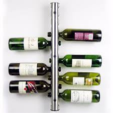 mental 12 hole wine water bottle holder wall mounted wine rack holder stand kitchen bar