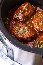 crock pot pork chops with onions and